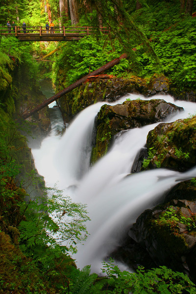 Sol Duc Falls - Olympic National Park, Washington - Mark Rasmussen