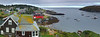 Monhegan Island - Panoramic - Maine & Acadia National Park - Mark Rasmussen - August 2010