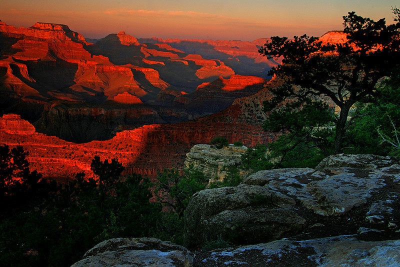 Mather Point sunset - Grand Canyon National Park, Arizona - Mark Rasmussen
