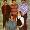 Mark Yaden (top row, far left) - 1973 (April) - Age 16 - Photo taken in Burnaby, British Columbia (Canada)