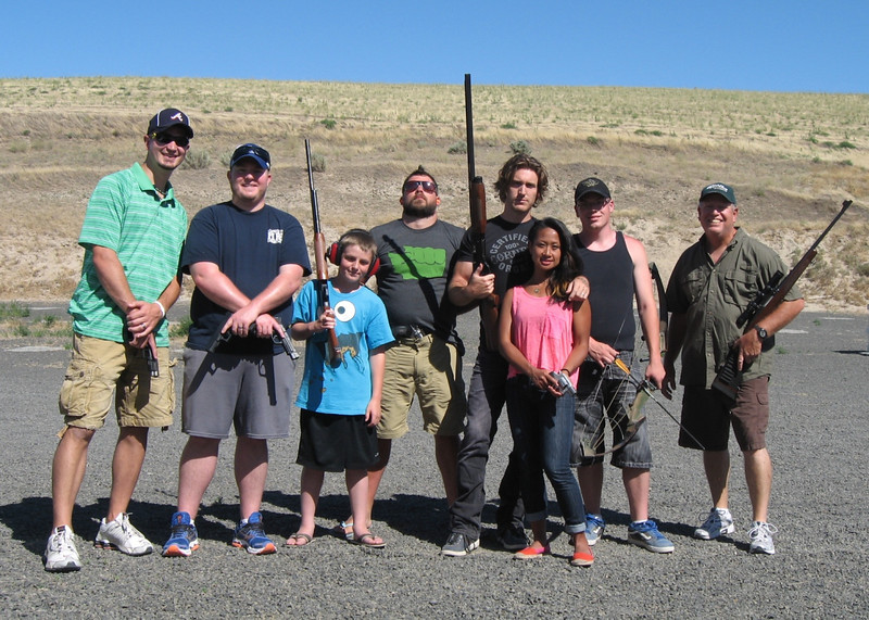 2012 (July) - Mark Yaden and his Kennewick Apple Dumpling Gang - Kennewick, WA