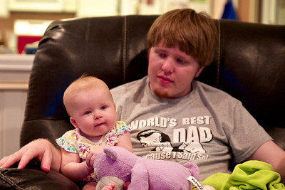 Thomas with daughter, Makenzie