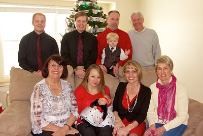 Manson Family Holiday photo.