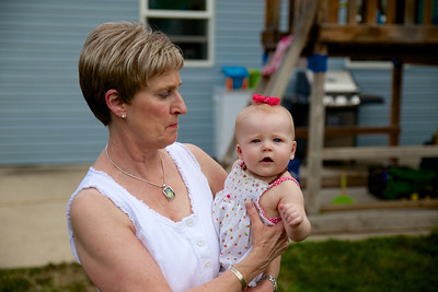 Donna & her Great Granddaughter, Makenzie