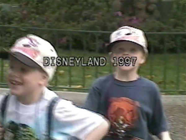 Manson family trip to Disneyland.
