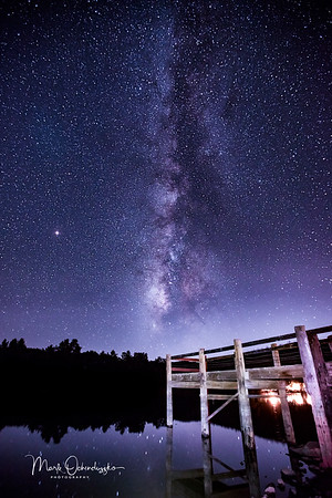 Cuyamaca Lake Milky Way