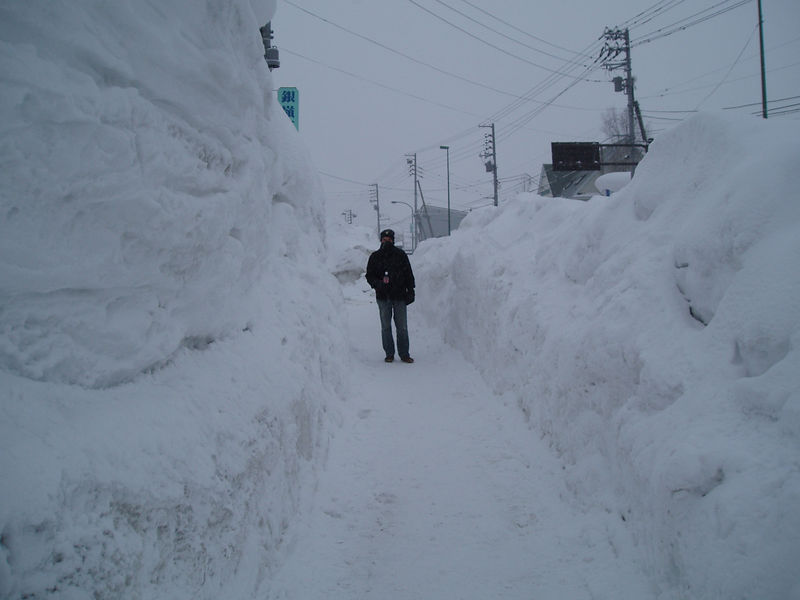 Lots of snow in the Village