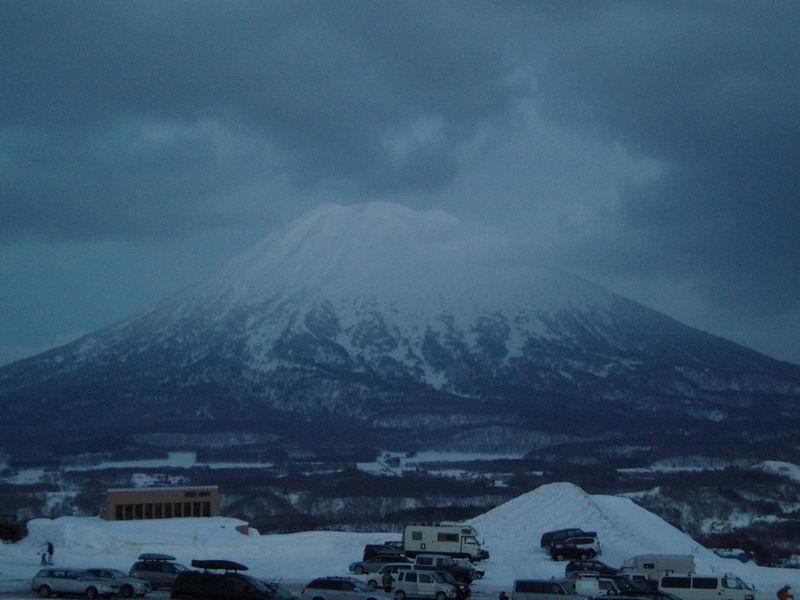 This is Mt Yotei aka lil Mt Fuji