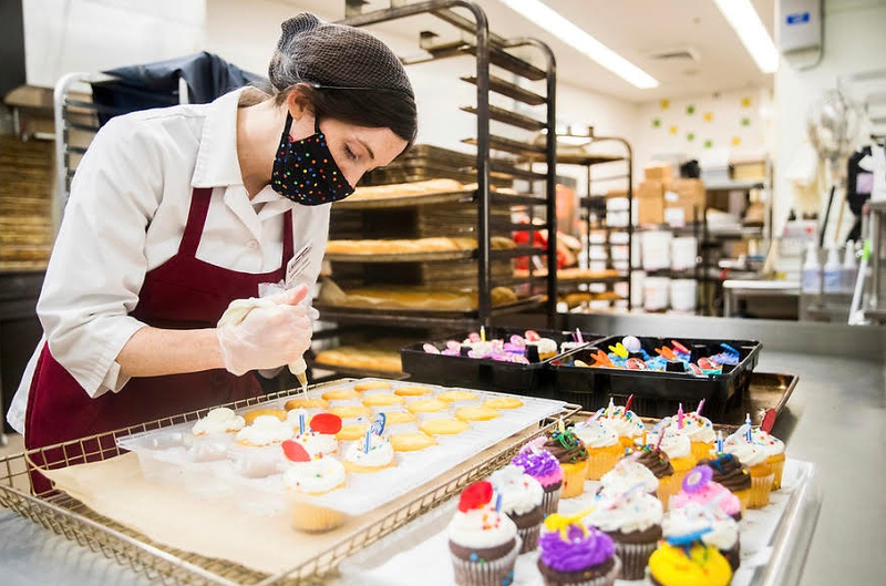 Cake decorator Sarah Ludwig of Boxboro.
