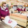 Lisa Honan of Tewksbury is a cashier.
