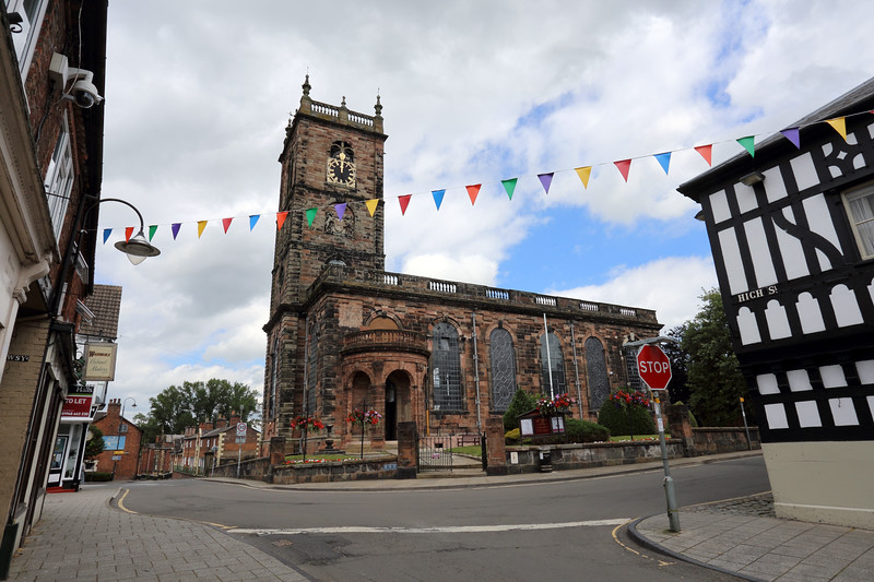 St. Alkmunds Church, Whitchurch.