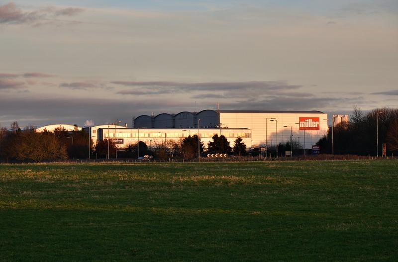 The Muller factory, Market Drayton.