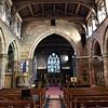 St Marys church interior, Market Drayton.