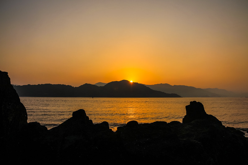 Sunrise in Hiroshima