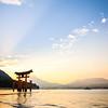Sunset at Miyajima Island
