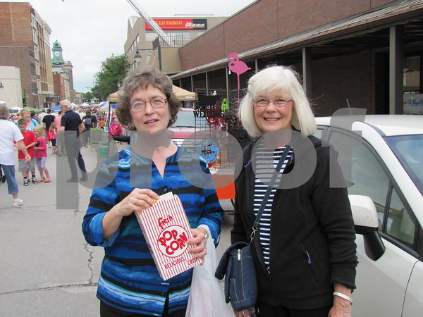 Lynda Mumm and Carie Oppedahl attended Market on Central.
