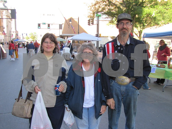 Melissa Hook, Sharon Hoeban, and Jack Hook