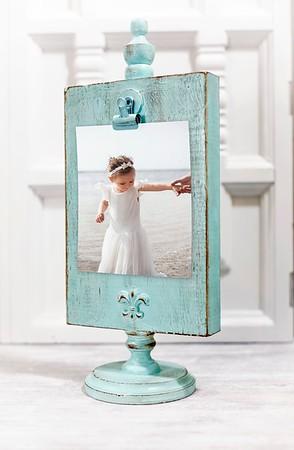 Wooden Photo & Menu Display