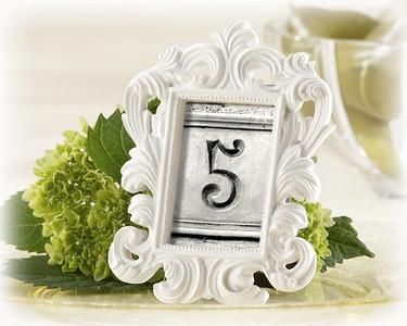 Vintage Wedding Table Number Sets