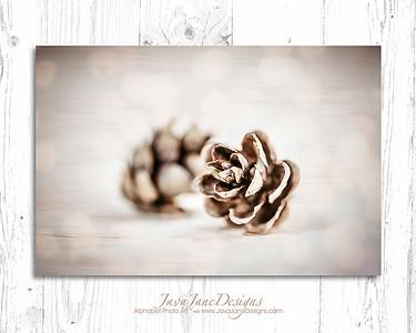 Pinecones #2 Dreamy Gold