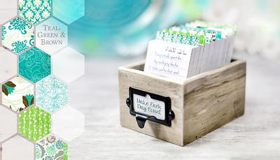 Perpetual Calendar & Daily Journal Box