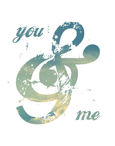 Ampersand Art - You & Me