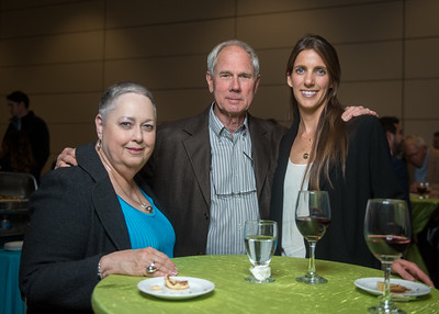 Elizabeth Susse (left), Chuck Weil, Sarah Smith