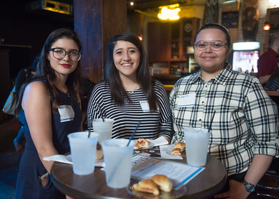 COMM & Media Week hosted a networking mixer for students at the House of Rock on April 3rd, 2018.
