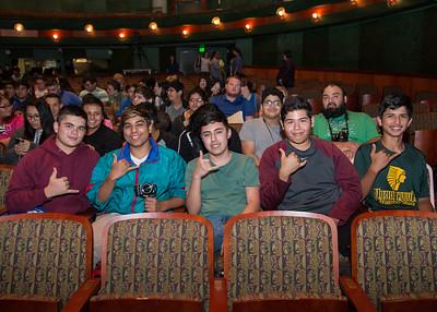 Xavier Gonzallez (Left), Marco Ramirez, Alexander nicolas, Derrick Morin, Jordan Ojeda