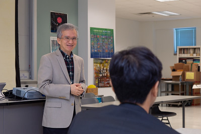 Dr. Lea-Der Chen (left) at the 2nd Southwest Asian Symposium.
