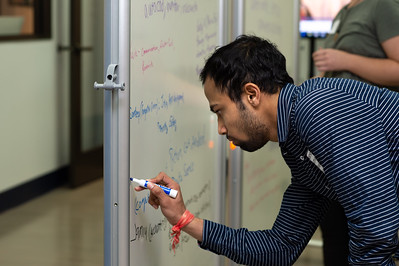Prasanna Kumar Annapreddy adds his idea to the baord of potential projects.
