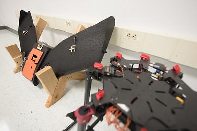 One of mandy models stored in the TAMU-CC UAS Lab.