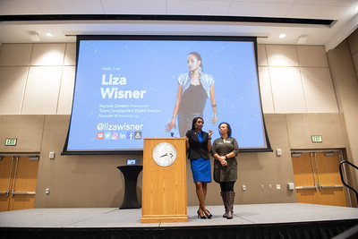 TAMU-CC Alumna Liza Wiser shares her story on the people who helped shape and influence her life. Thursday Feb 7, 2019 in the University Center's Anchor Ballroom.