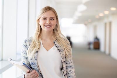 Fall 2018 Outstanding Graduate Jennifer Kloesel.