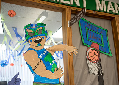 Managment Enrollment Unit Homecoming 2018 Decorations