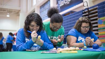 Crystal Quevedo (left), Jessica Brooks, Laihlan Medelez