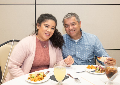 Pat and Jerry Gonzalez during the Fall 2018 Distinguished Speaker Series VIP Reception.