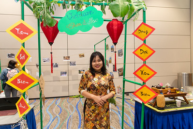 Phuong Hoang at the Xin Chao Vietnam event.