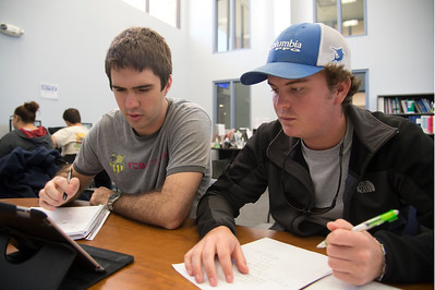 Students Spencez Rebuts and Cody Lain does the homework