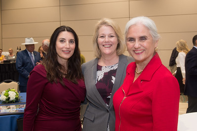 Barbara Canales (left), Kelly Quintanilla, and Cecilia Akers.