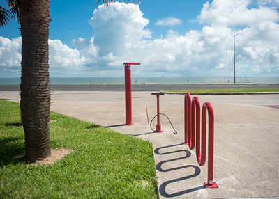 Did you know that new bike pumps have been installed near the campus bus stop thanks to a new Corpus Christi Regional Transportation Authority (CCRTA) initiative?
