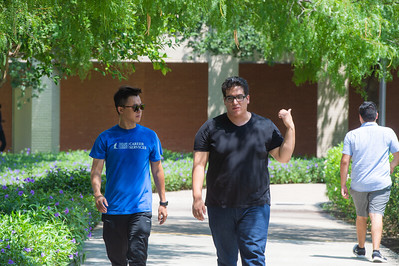 Trung Le (left) and Joel Lopez