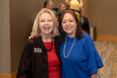 Claudia Jackson (left), and Margaret Dechant.