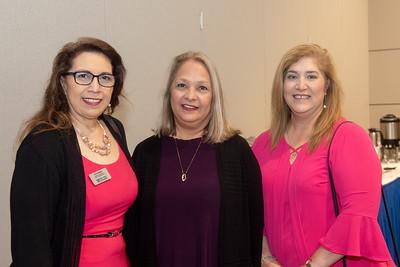 Gracie Martinez (left), Jeannie Gage, and Patricia Dominguez.