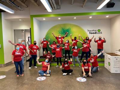 Houston Food Bank Volunteering 2020