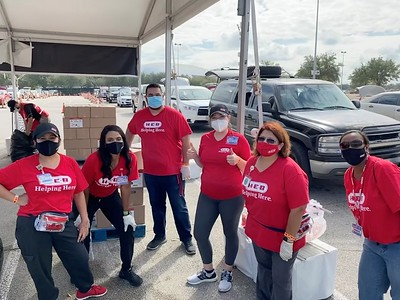 Houston Thanksgiving Meal Distribution - November 2020