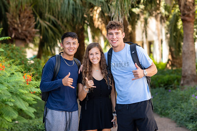 Javier Rodriguez(left), Natalle Banko, and Zac Frank.
