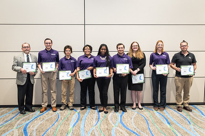 Students were recognized for their outstanding work during the TRIO McNair Luncheon.