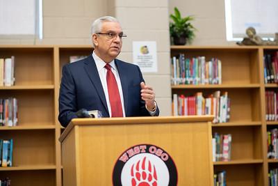 West Oso ISD superintendent Conrado Garcia