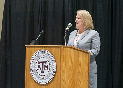 President and CEO of Texas A&M University - Corpus Christi, Dr. Kelly Quintanilla